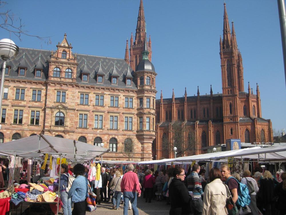 Stoffmarkt Wiesbaden...oder ein Tag Urlaub :o) (1/2)